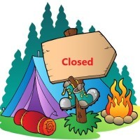 Clute Park Campground Closing Day